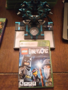 Lego Dimensions Xbox 360 w/extra figures