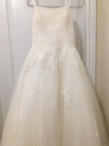 New with tags size 16 ivory morilee wedding dress