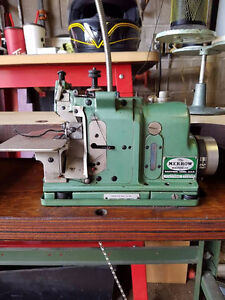 Merrow Surging machine with table.