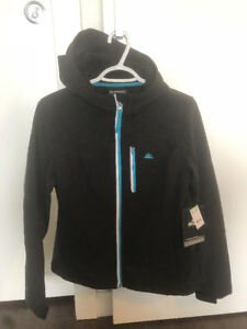 New women's outdoor Snozu shell L with a hood - $45.00