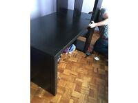 Desk that fits onto lack furniture