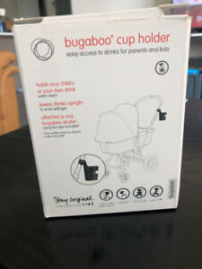 Bugaboo cup holder (new in box)