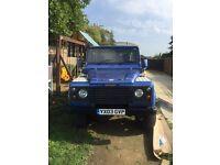 Land Rover 2003 Defender 90 county spec