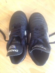 Childs size 12 diadora soccer cleats