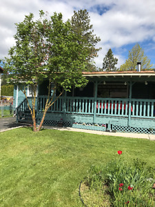 MERRRITT BC- CEDAR HOME WITH LARGE 800 SQ FT COVERED DECK