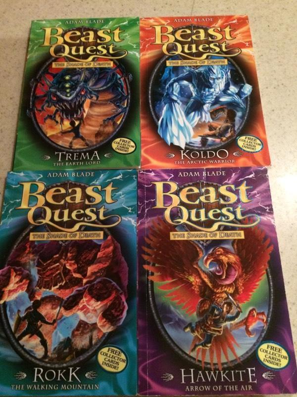 Beast Quest Book Lot of 21 Adam Blade Scholastic Chapter Books Fantasy Series AR