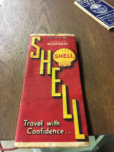 Vintage Shell Gas Station - Montreal Map