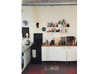 Double room in Hackney London Fields Warehouse flat