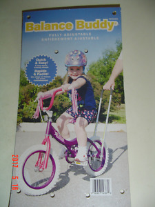 """""""BALANCE BUDDY"""" HANDLE FOR CHILDREN'S 12"""" TO 16"""" BICYCLES"""