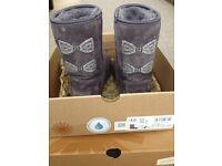 Limited Edition Swarovski Crystal Bow UGG Boots.