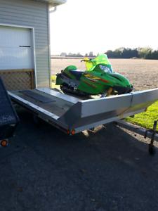 Triton sled trailer