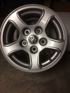 Reduced From $350 to $300- Pair of 16 inch Dodge Dakota Wheels