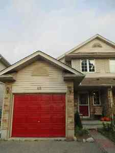 Lovely 3 Bdrm Semi in Guelph's Eastend -Backing onto greenspace