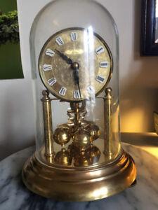 Kern & Sohn. Miniature, 400 Day, Torsion Anniversary Clock.