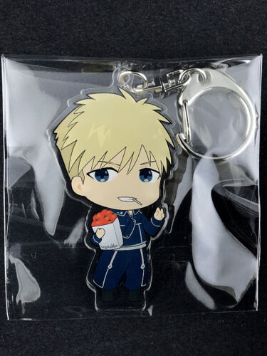 Fullmetal Alchemist SD Acrylic Key Holder Ring SWEETS PARADISE Jean Havoc
