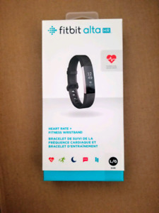 Brand new! Fitbit Alta HR - Black - Large