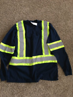 Hi-Vis Safety Shirts for construction work or road safety