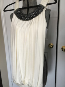 New wiht Price Tag $372. BCBG Dress With Sequins Size 2