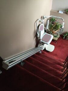 Acorn stairlifts. 7 step and 6 step lifts.