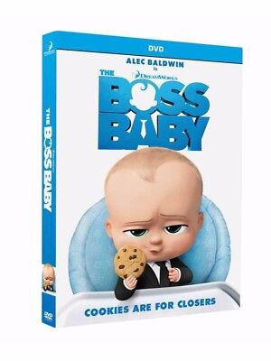 The Boss Baby  Dvd  2017