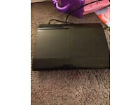 PS3 12gb and a 1 tb hard drive