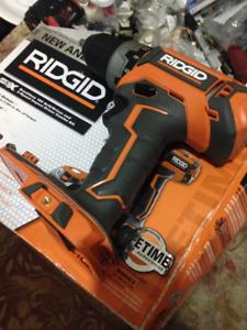 brand new never used ridgid 18v Gen5x brushless Drill