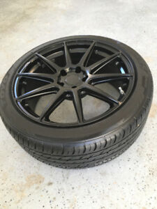 Sport Tires and Rims - like new