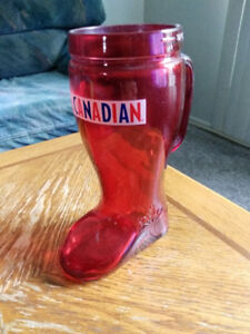 I Am Canadian 32oz Beer Boot / Glass