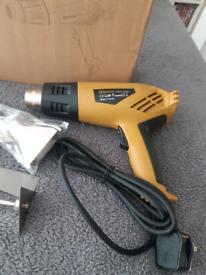 Heat gun paint varnish stripper warming painted items brand new boxed