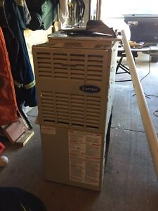 Carrier furnace 100 BTU perfect for a cabin or garage