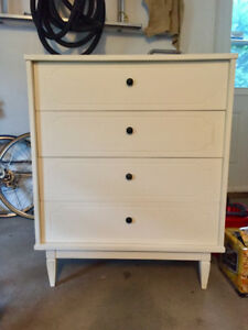 Meuble commode blanche