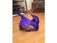 Yamaha YZF 125r Nose Cone Blue
