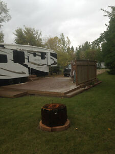 Lake Lot & Luxury 5th wheel Colesdale Park South Last Mountain L Regina Regina Area image 1