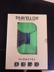 Ipad Travellor Military Duty Case with Stand - NEW in Box