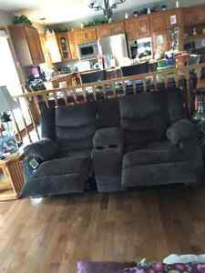 Ashley easy glide love seat/theatre chair PRICE REDUCED