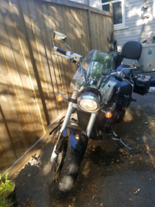 2009 Suzuki Boulevard M50 to trade for ATV