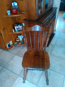 wanted maple hard wood chairs