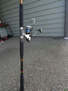 Rod/Reel Combo with line