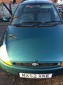 Ford Ka 2002 12 months mot