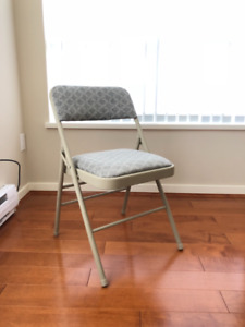5 Almost-new Costco folding chairs