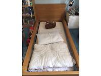Single malm bed frame