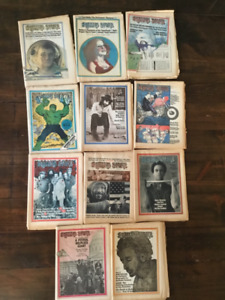 Collectible Rolling Stone Magazines
