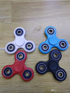 Hand/fidget spinners, new in package, colours options available