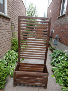 Two Red Cedar Planter Box With Trellis and Shelves -$120.00/ea Kitchener / Waterloo Kitchener Area image 3