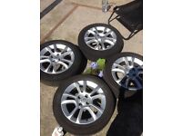 Vauxhall corsa alloys 16 inch with tyres ! Call Rutherglen tyre Centre 0141 643 1532