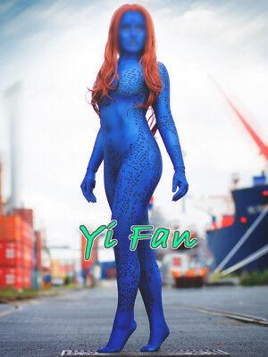 Mystique X Men Halloween Costume (New Mystique Costume Spandex Halloween Cosplay X-men Halloween)