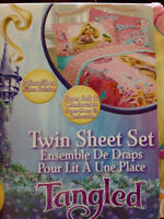 Tangled Twin Bed Sheet Set