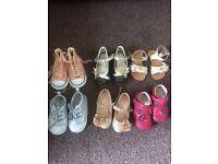 Job lot of todler shoes size 4
