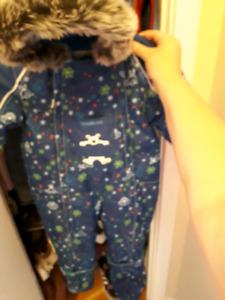 Oshkosh snow suit brand new
