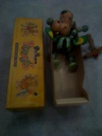 Vintage Pelham puppet. BABY DRAGON. in box